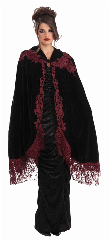 Velvet Lace Adult Cape