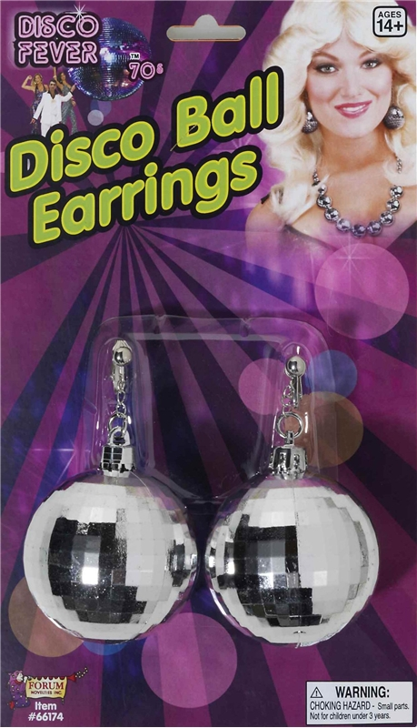 Disco Earrings by Forum Novelties