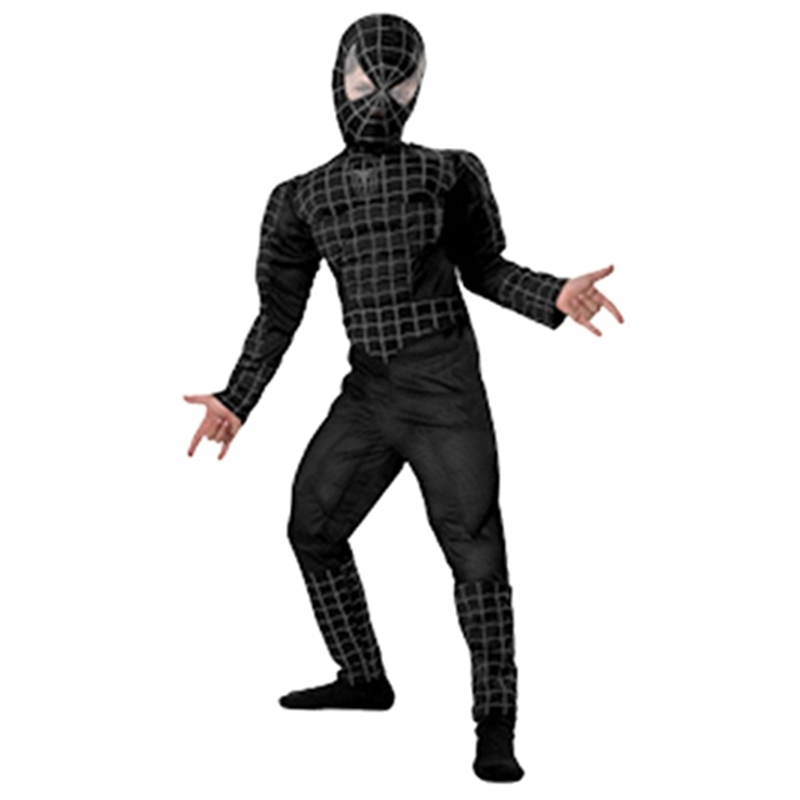 Spider-Man Muscle Deluxe Black Child Costume 6617