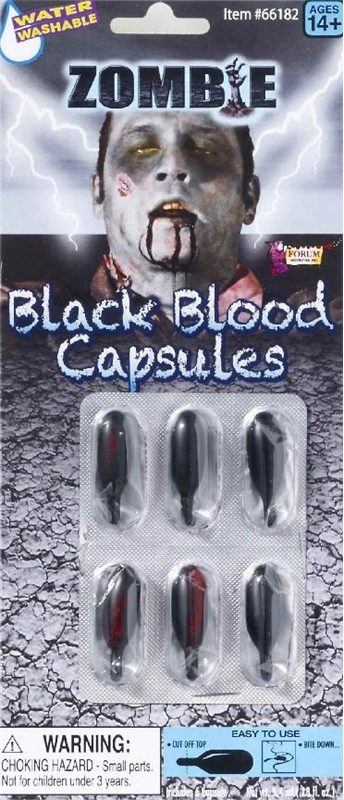how to make blood capsules