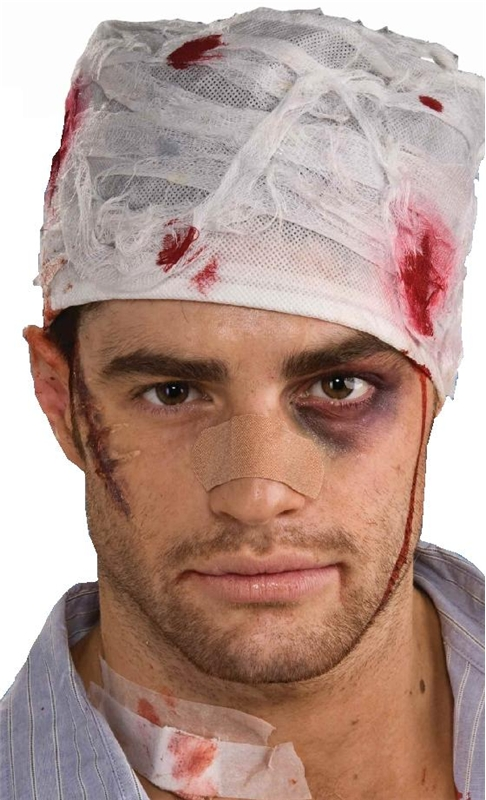 Bloody Head Bandage by Forum Novelties