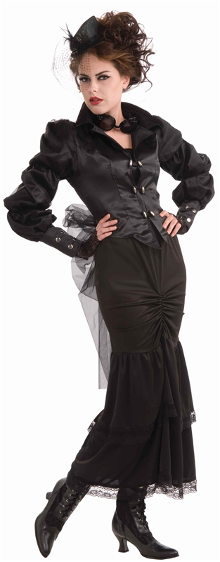 [Steampunk Victorian Lady Adult Womens Costume] (Victorian Womens Costumes)