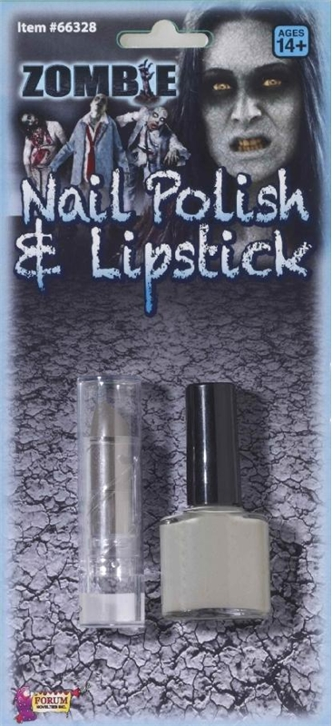 Zombie Nail Polish and Lipstick Set