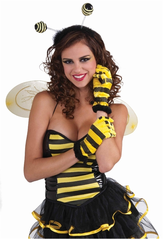 Honey Bee Adult Gloves by Forum Novelties