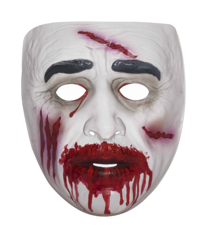 Bloody Zombie Adult Mask