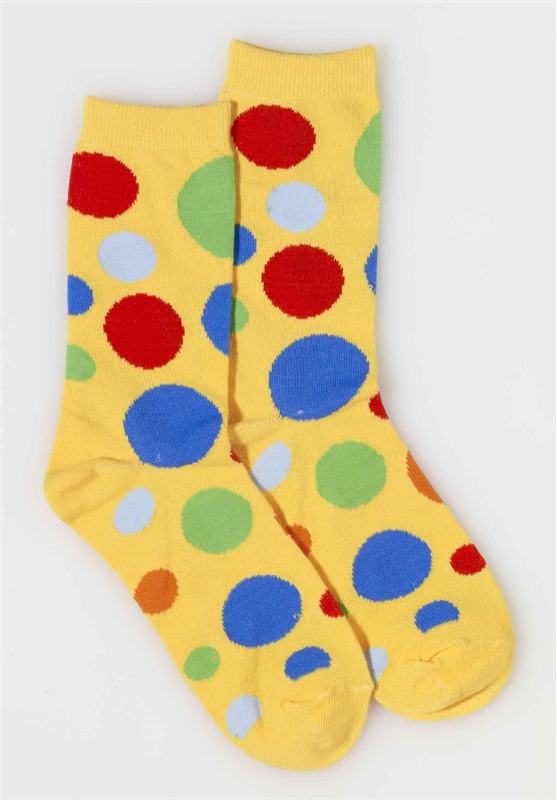 Clown Polka Dot Socks