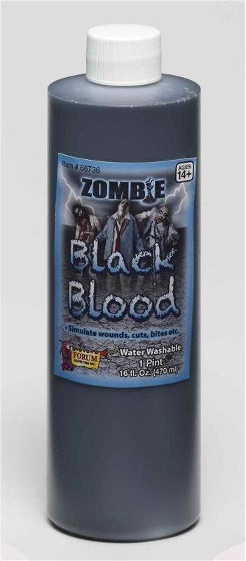 Zombie Black Blood Pint