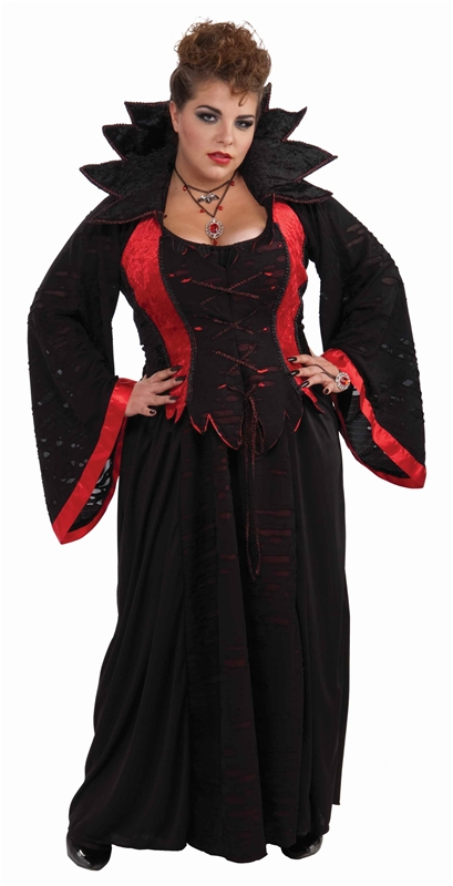 Vampiress Plus Size Adult Womens Costume