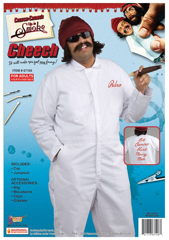 Cheech Jumpsuit Adult Costume
