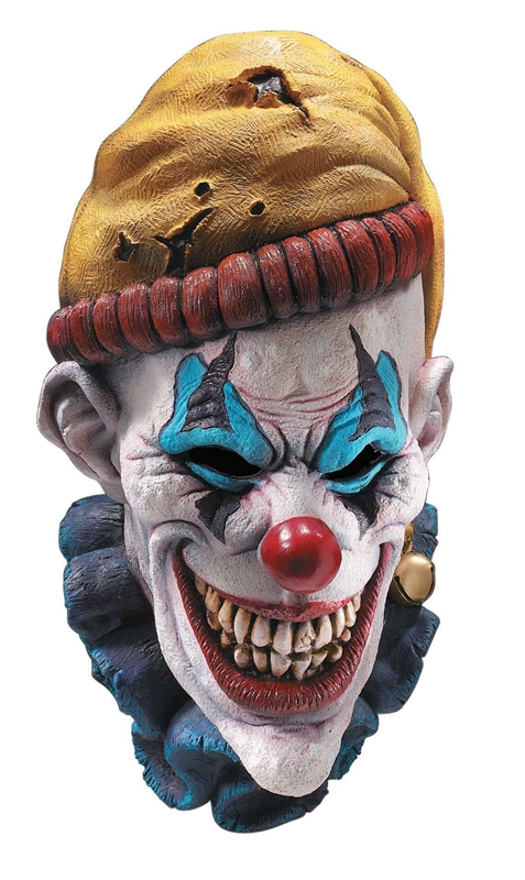Insano Clown Oversized Latex Mask