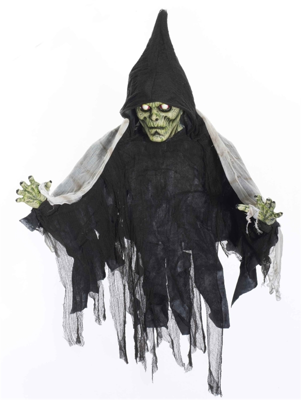 Hooded Zombie with Banner