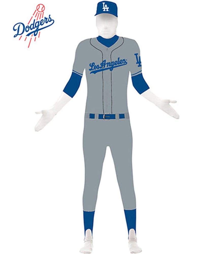 Los Angeles Dodgers Adult Skin Suit by Paper Magic