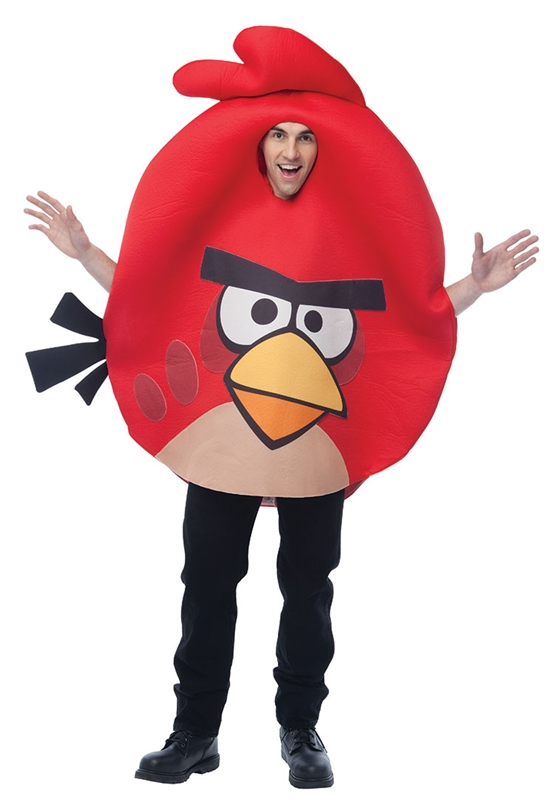 Angry Birds Red Bird Adult Costume