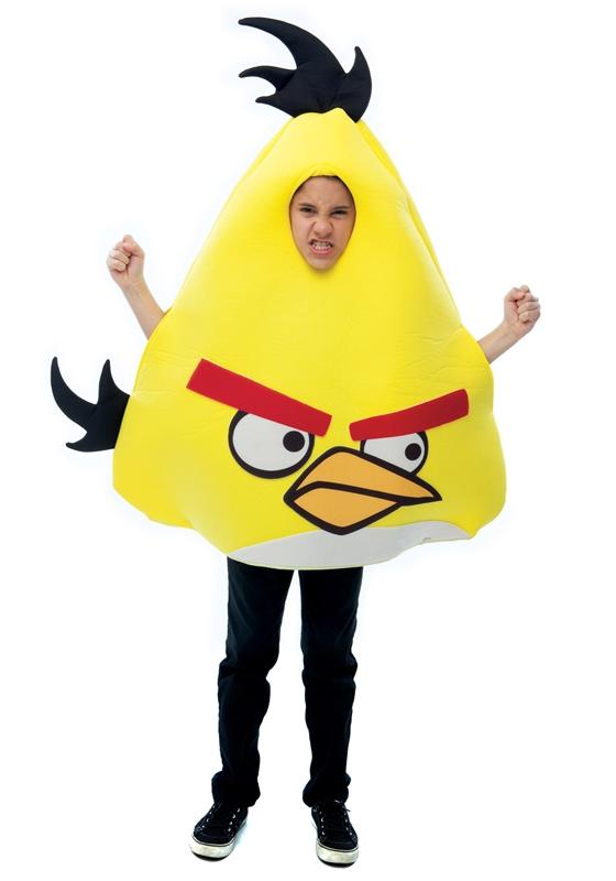 Angry Birds Yellow Bird Child Costume