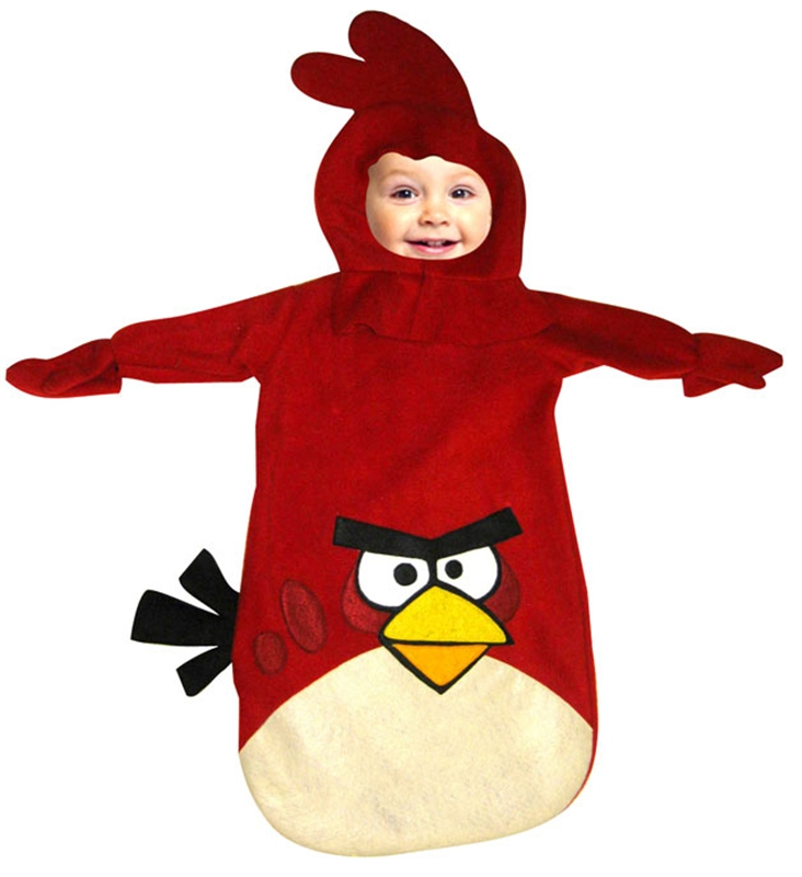 Image of Angry Birds Red Bird Infant Costume