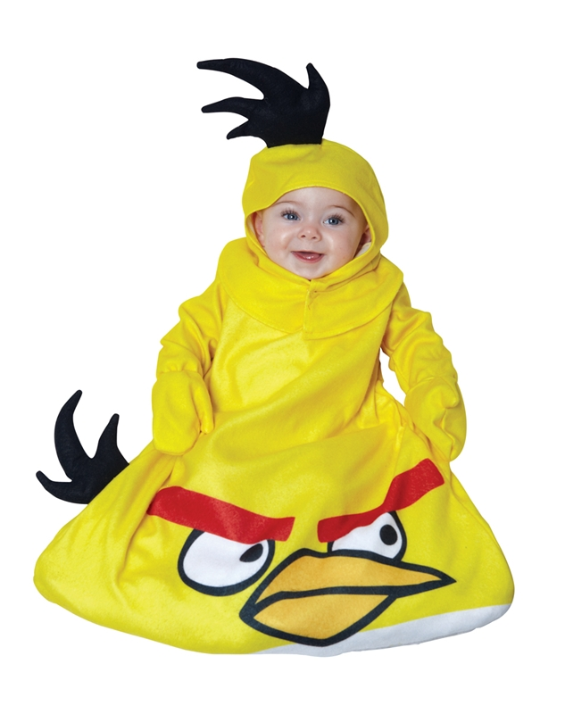Image of Angry Birds Yellow Bird Infant Costume