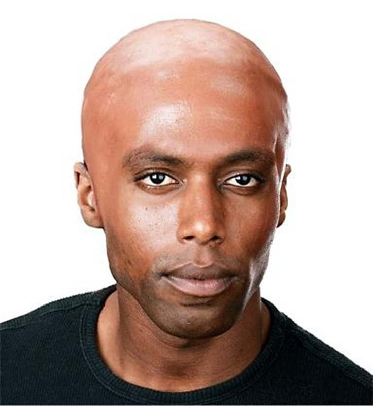 Dark Bald Cap (Ships for $1.99)