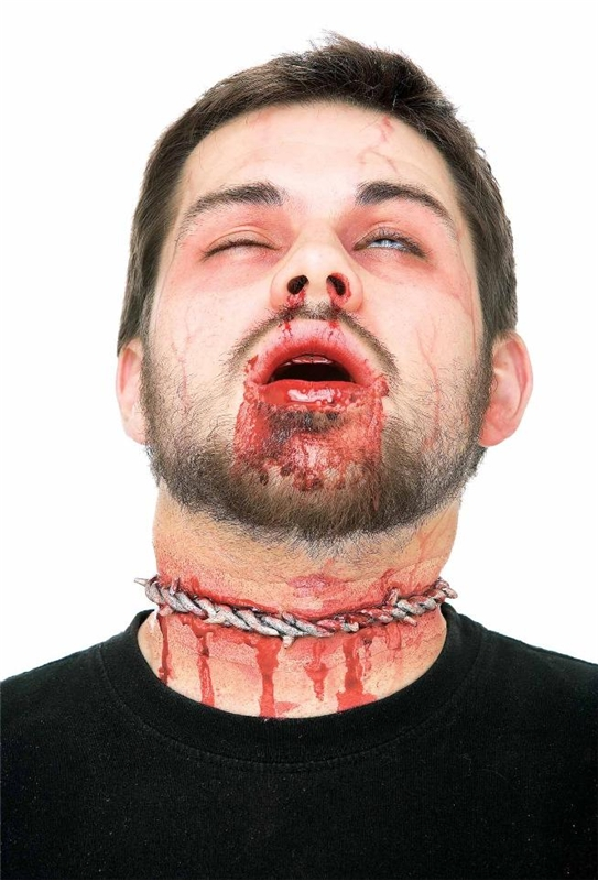 Barbed Wire Wound Prosthetic- 138903 | trendyhalloween.com