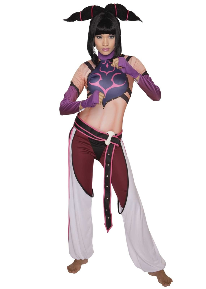 Street Fighter Juri Womens Costume