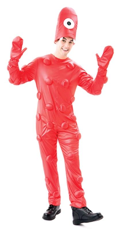 Yo Gabba Gabba Muno Adult Mens Costume 679125