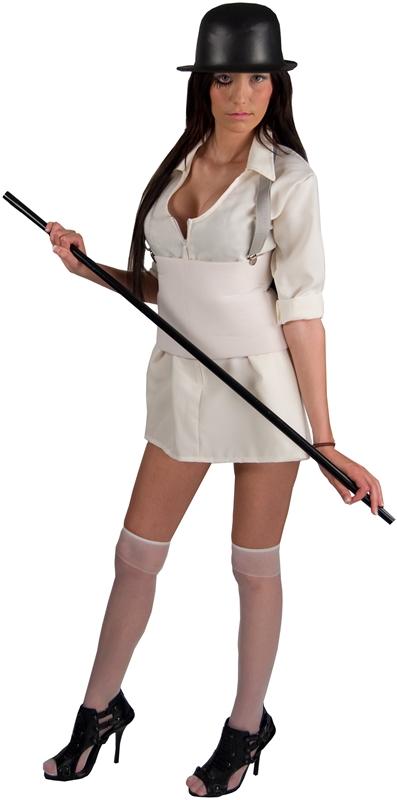A Clockwork Orange Droog Woman Adult Costume