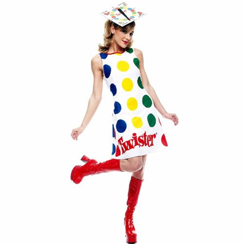 Twister Sexy Adult Womens Costume