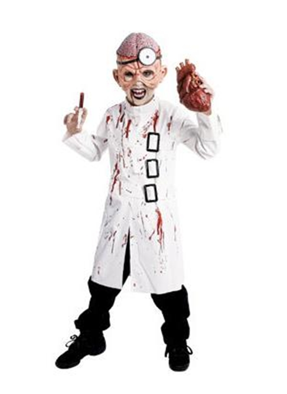 Deluxe Doctor Insano Child Costume