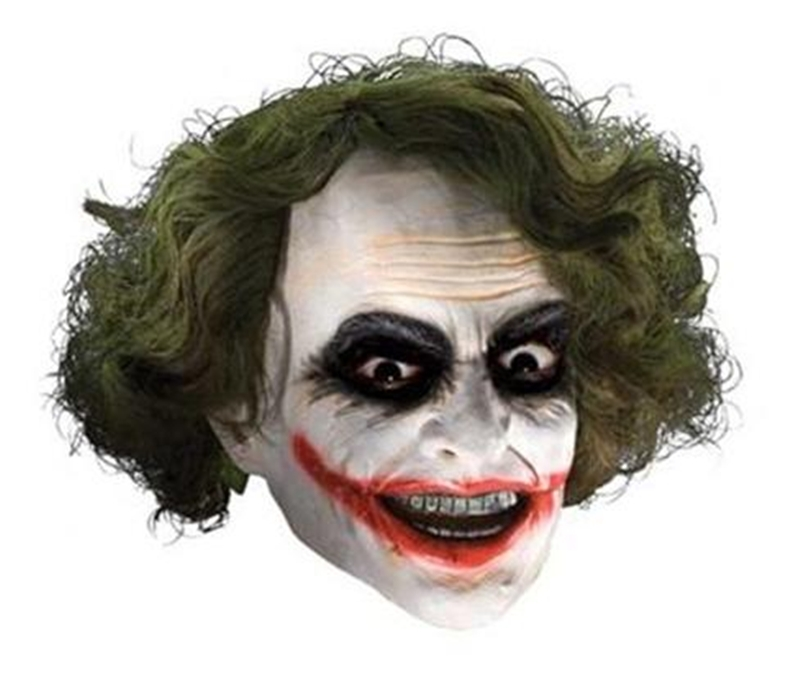 Deluxe Joker Latex Adult Mask by Rubies