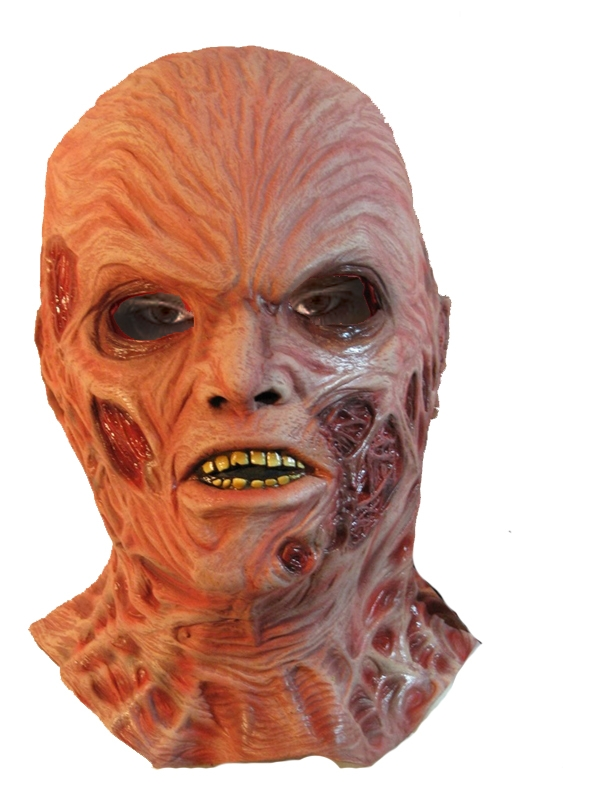 Image of Deluxe Freddy Krueger Latex Adult Mask