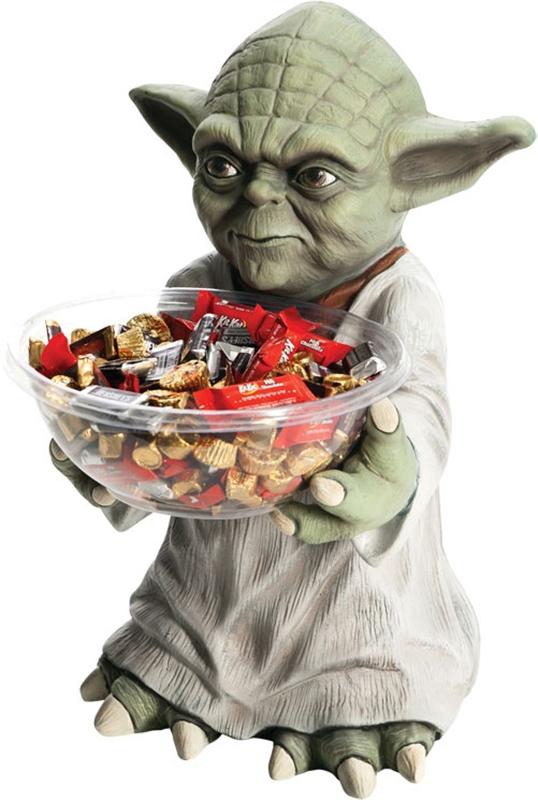 Star Wars Yoda Candy Bowl Holder (Star Wars Candy)