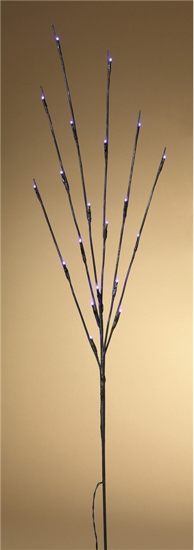 Purple Lighted Branches