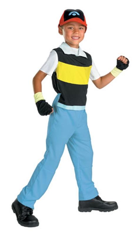 Купить Pokémon Ash Ketchem Quality Child Costume