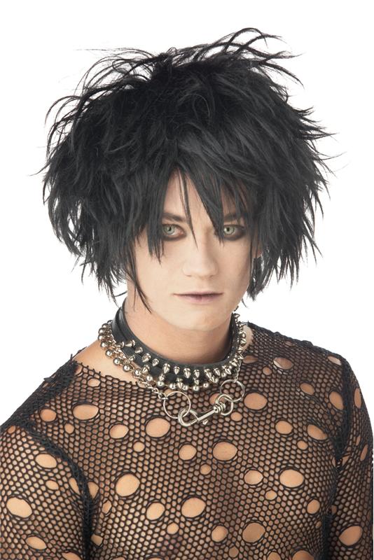 Midnight Fiend Wig