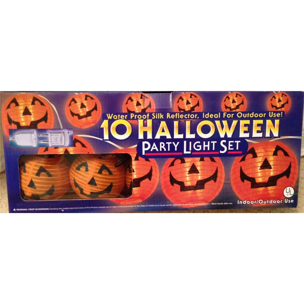 Pumpkin Light Set 10ct