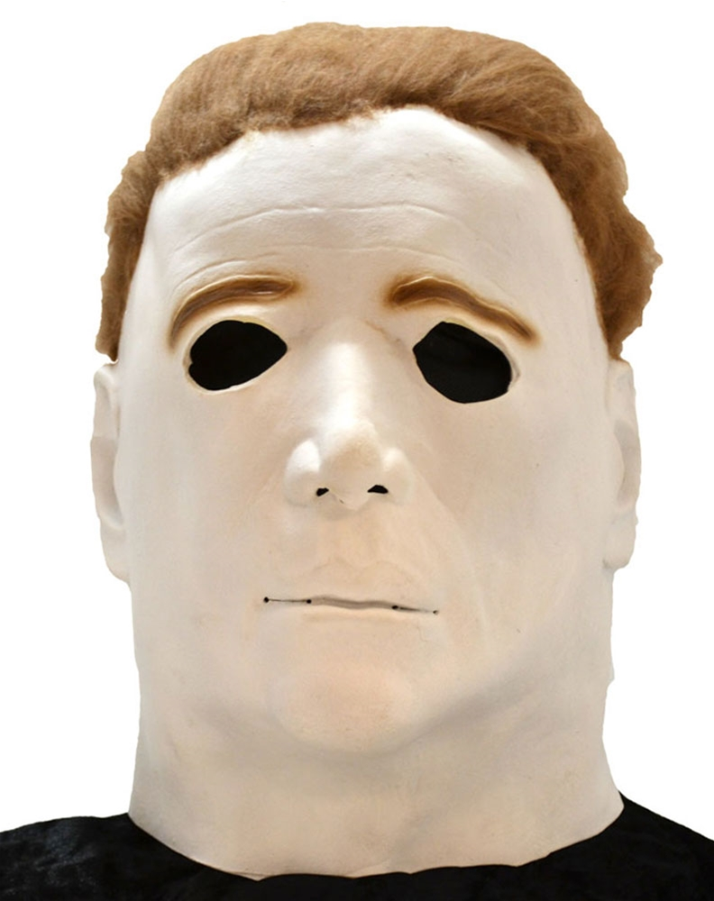 Michael Myers Adult Halloween Overhead Latex Mask