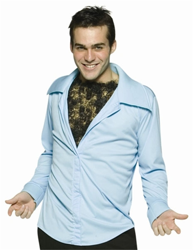 Hairy Chest Shirt Adult Costume