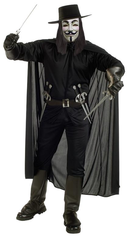 V for Vendetta Adult Mens Costume