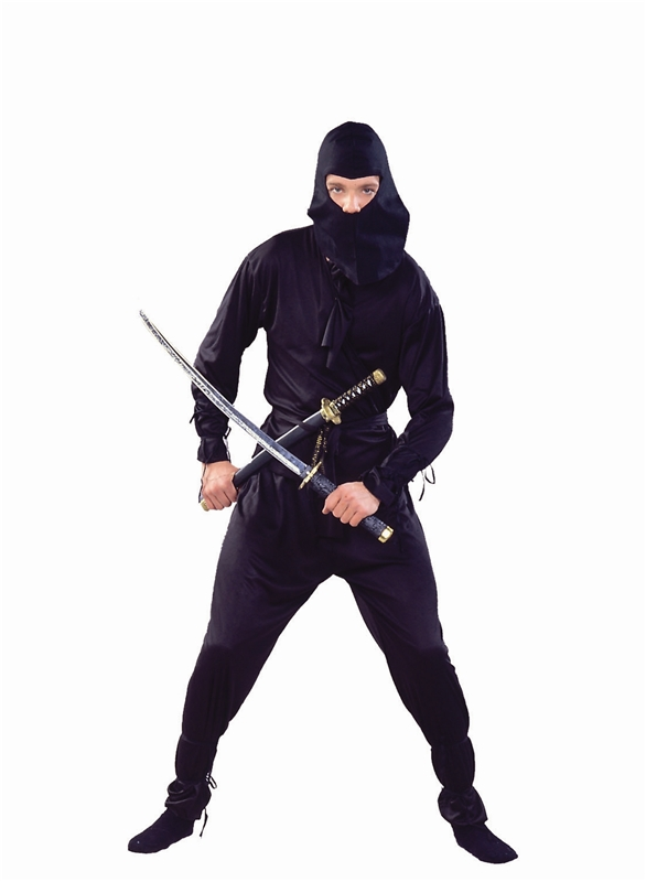 Ninja Black Adult Costume