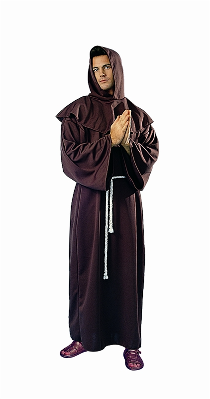 Image of Monk Deluxe Robe Adult Costume