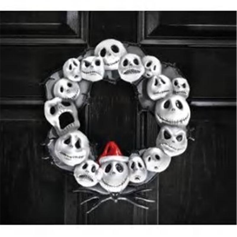 Nightmare Before Christmas Door Wreath