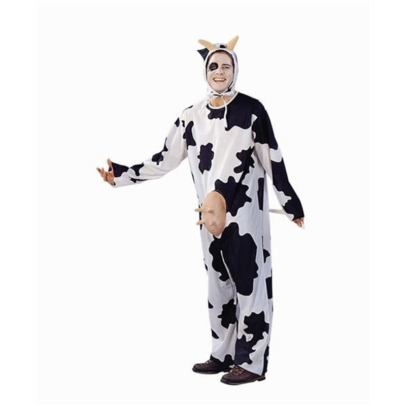 Cow Mens Costume Jumpsuit