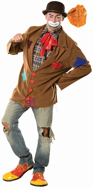 Harry the Hobo Clown Adult Mens Costume