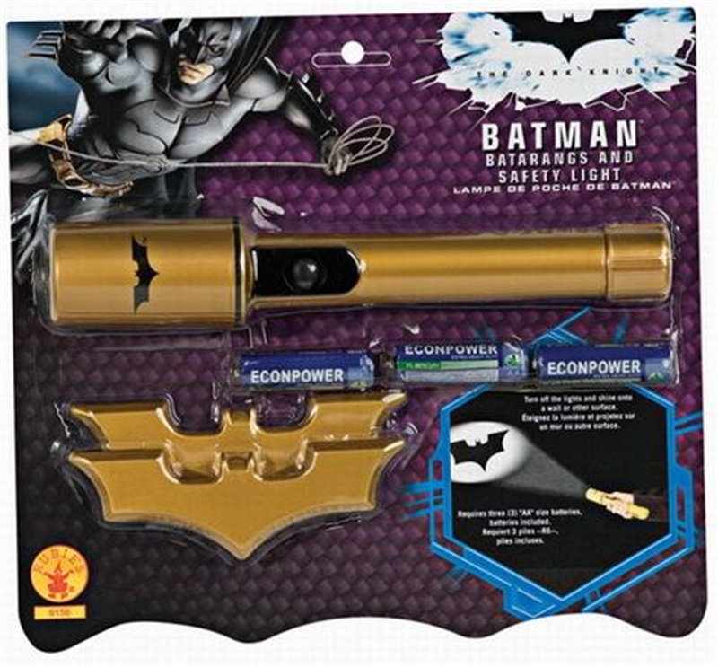 Batman Flashlight and Batarangs Set