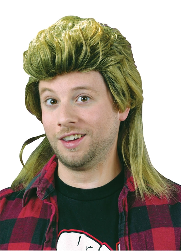 Blond (Mullet Wigs)