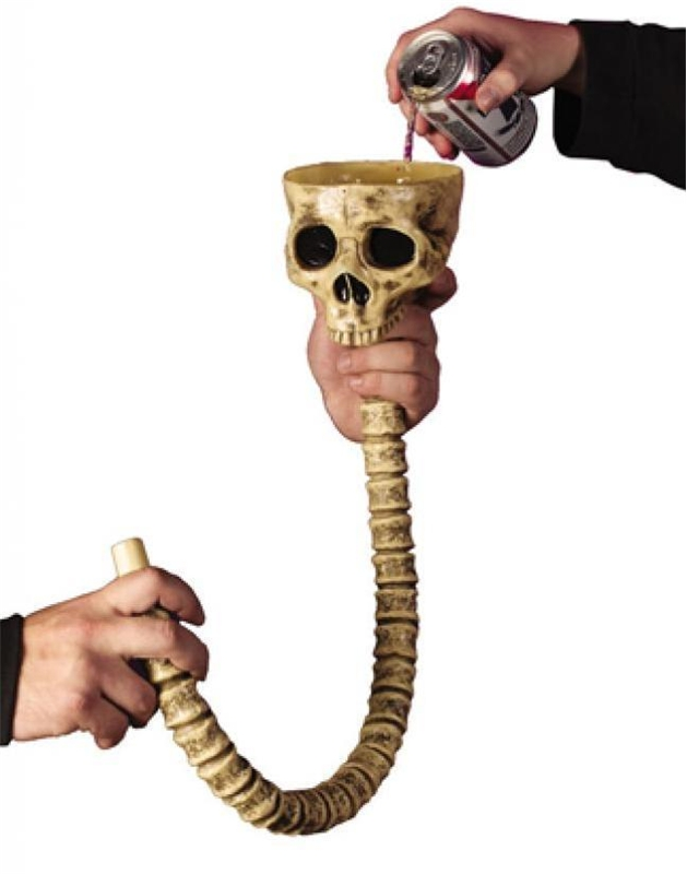 Skull Beverage Funnel
