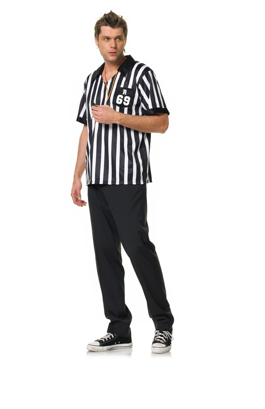 [Referee Adult Mens Costume] (Mens Referee Costumes)