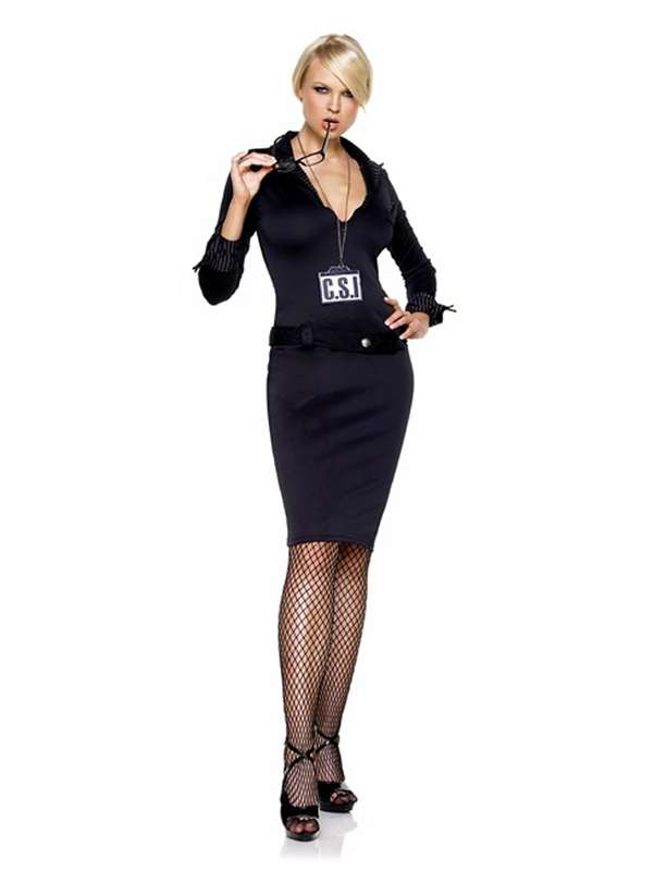 CSI Detective Adult Womens Costume