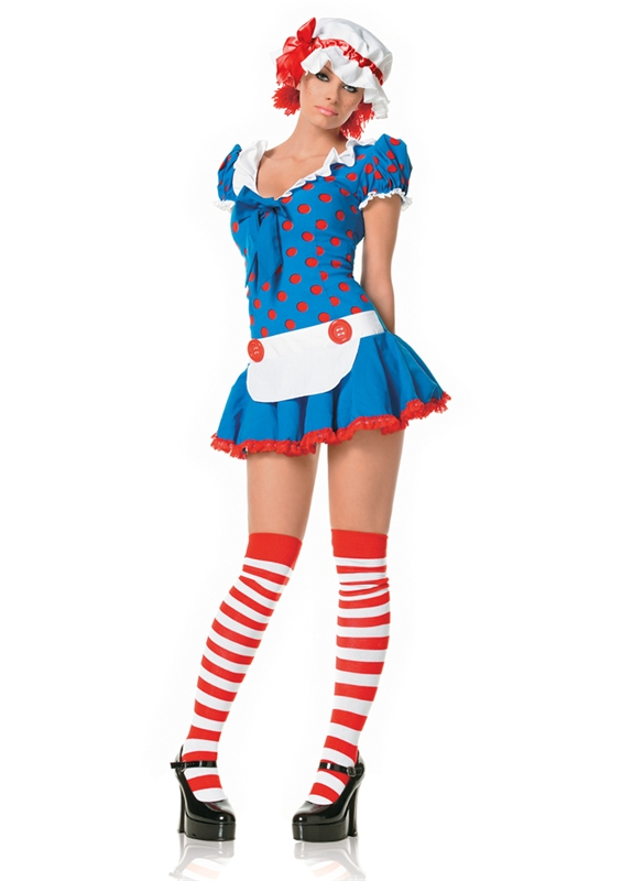 Rag Doll Adult Womens Costume