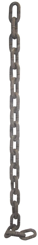 Giant Rusty Chain Prop