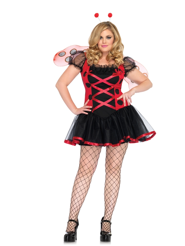 Lady Bug Plus Size Adult Womens Costume
